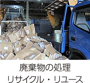 廃棄物の処理、リサイクル・リユース